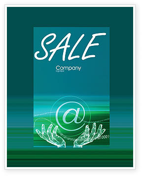 Internet Technologies Sale Poster Template