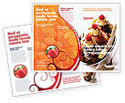 Food & Beverage: Banana Split Brochure Template #02192