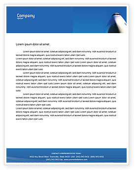 Aircraft Ready To Fly Letterhead Template