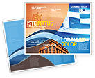 Flags/International: Flag of Greece Brochure Template #02208