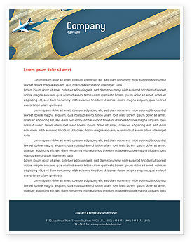Airport Letterhead Template, 02212, Cars/Transportation — PoweredTemplate.com