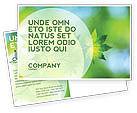 Nature & Environment: Flora Postcard Template #02215