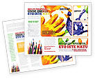 Education & Training: Paint Brochure Template #02218