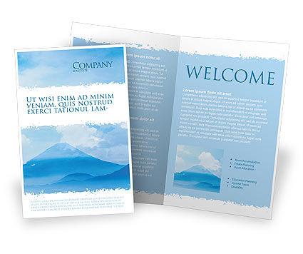 Nature & Environment: Modèle de Brochure de fujiyama #02226