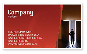 Choice Business Card Template, 02227, Business Concepts — PoweredTemplate.com
