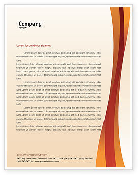 Business Concepts: Choice Letterhead Template #02227