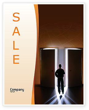 Choice Sale Poster Template, 02227, Business Concepts — PoweredTemplate.com