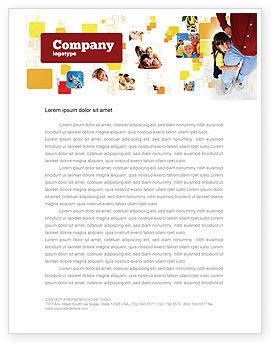 People: Paternal Care Letterhead Template #02232