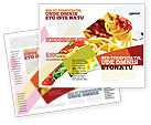 Food & Beverage: Italiaans Eten Brochure Template #02244