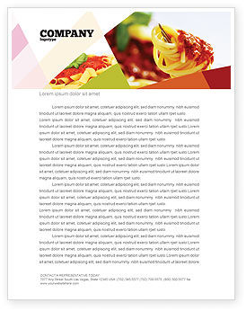 Food & Beverage: Italian Food Letterhead Template #02244