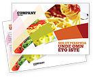 Food & Beverage: Italian Food Postcard Template #02244