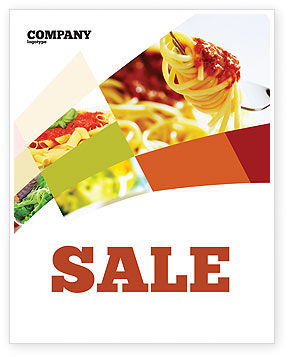 Italian Food Sale Poster Template