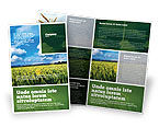 Agriculture and Animals: Grain Brochure Template #02248