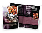 Food & Beverage: Taart In Bakplaat Brochure Template #02256