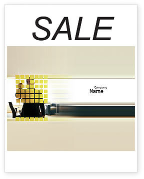 Business: Business Planning In The Office Sale Poster Template #02261
