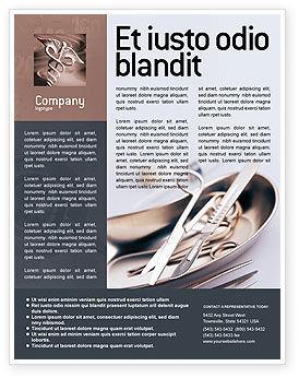 Medical: Plantilla de volante - herramientas de cirugía #02263