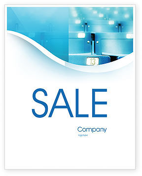 Business Concepts: Seat Sale Poster Template #02266