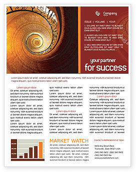 Stairs Newsletter Template, 02275, Construction — PoweredTemplate.com