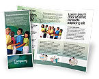 People: Children Of The World Brochure Template #02279