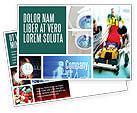 Medical: Reanimation Postcard Template #02288