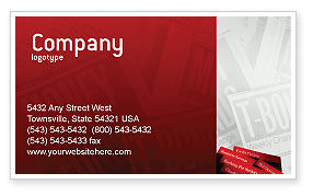 Savings and Credits Business Card Template