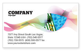 Careers/Industry: Beach Accessories Business Card Template #02293