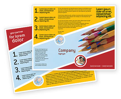 Education & Training: Pencil Brochure Template #02294
