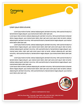 Education & Training: Pencil Letterhead Template #02294