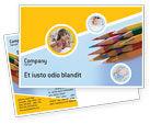 Education & Training: 鉛筆 - はがきテンプレート #02294