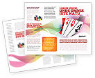 Careers/Industry: Playing Cards Brochure Template #02295