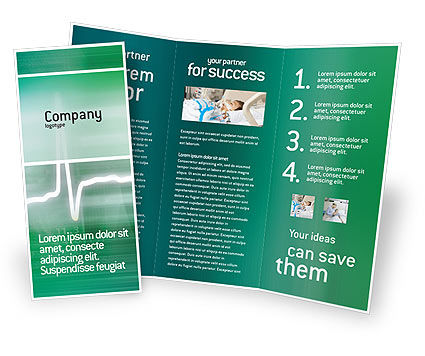 Medical: Cardio Brochure Template #02300