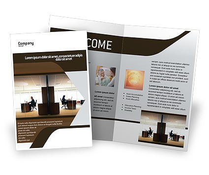 Business: Office Space Brochure Template #02306