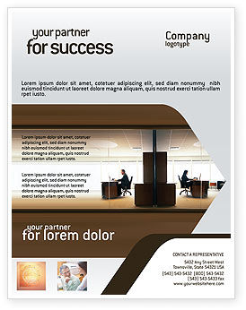 Office Space Flyer Template