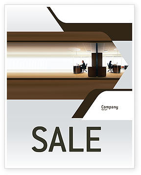 Business: Office Space Sale Poster Template #02306