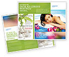 Holiday/Special Occasion: Spa Brochure Template #02307