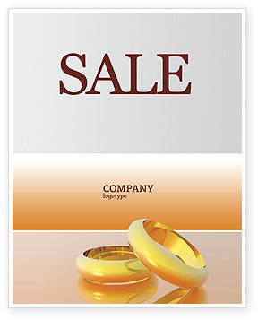 Wedding Rings Sale Poster Template, 02309, Holiday/Special Occasion — PoweredTemplate.com