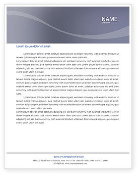 Careers/Industry: Dinner Letterhead Template #02312