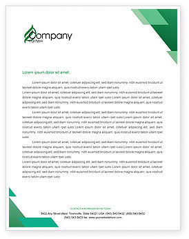 Scrub Nurse Letterhead Template, 02313, Medical — PoweredTemplate.com