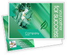 Medical: Scrub Nurse Postcard Template #02313