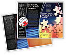 Consulting: Game Puzzle Brochure Template #02317