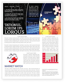 Consulting: Game Puzzle Newsletter Template #02317