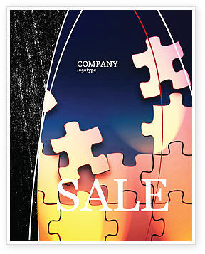 Consulting: Game Puzzle Sale Poster Template #02317