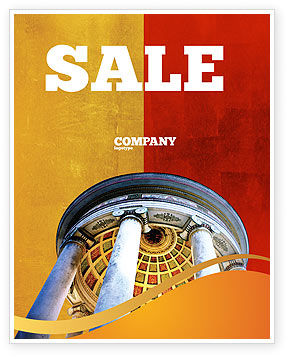 Rotunda Sale Poster Template, 02318, Construction — PoweredTemplate.com