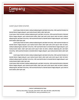 Business: Handshake Letterhead Template #02326