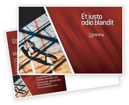 Business: Modello Cartolina - Stretta di mano #02326