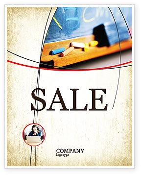 Education & Training: School Learning Sale Poster Template #02328