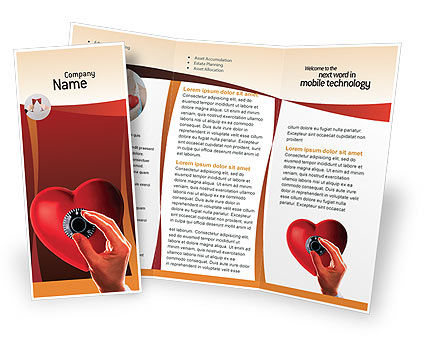Key To Heart Brochure Template Design And Layout Download