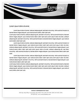 Construction: Modern Building Letterhead Template #02335