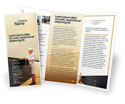 Business: Modèle de Brochure gratuit de archiver #02341