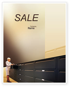 Business: Archive Sale Poster Template #02341